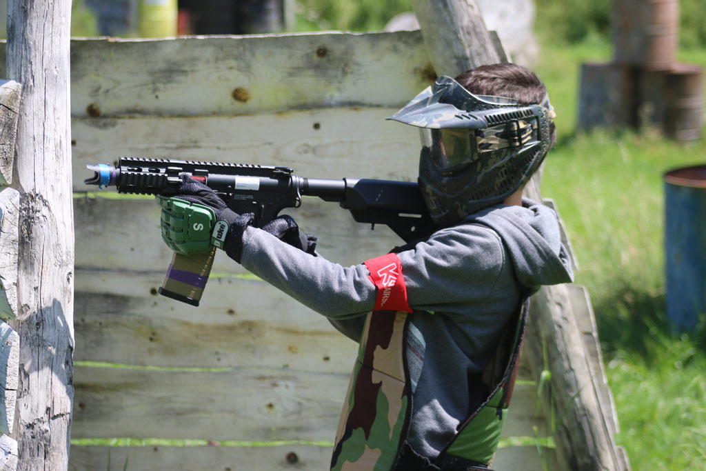 Airsoft mineur chez paintball Grenoble