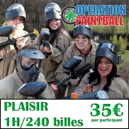 Formule paintball 35€